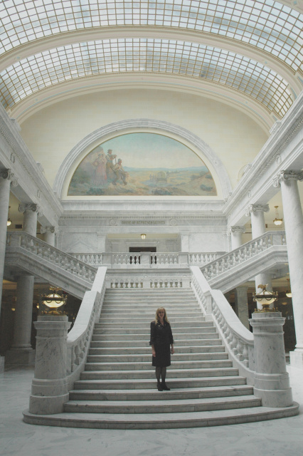 Ruth Ann Holloway Utah Capitol